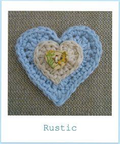 crochet+hearts Inspiracion ❥Teresa Restegui http://www.pinterest.com/teretegui/❥