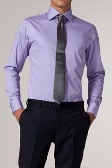 A Pop Of Color On Pinterest Purple Ties Purple Shirts