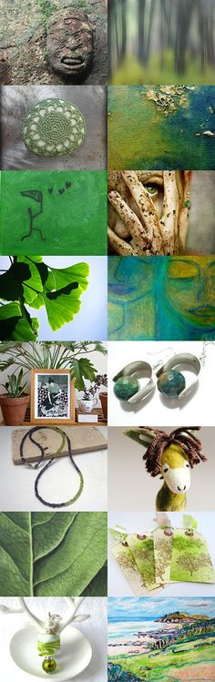 Green Oasis by 3buu on Etsy--Pinned+with+TreasuryPin.com