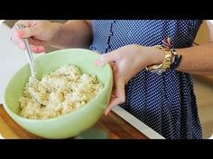 How to Make Perfect, Fluffy Quinoa! #autumncalabrese #21DayFix #tips