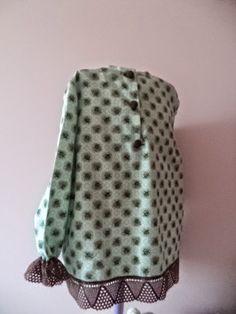 . abertura en la espalada DIY Polka Dot Top, Diy, Fashion, Fabrics, Chrochet, Sew, Clothes For Girls, Manualidades, Blouse