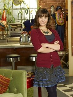 Demi Lovato in Sonny with a Chance