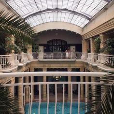 Yesterday at Gellert SPA ⛲️ #gellertbaths #gellertspa #spa #budapest #travel #pool #sunshine