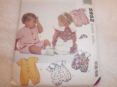 McCalls 5952 Childs Jumpsuit or by Joscreativecrafts on Etsy, $3.50