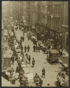 Looking north on Orchard Street, 1909