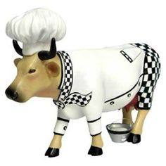 Cows on Parade Chef Cow Collectible Cow Figurine