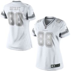 a5078457e Nike Dez Bryant Dallas Cowboys Women s White Platinum Jersey  cowboys  nfl  dallas  Dallas