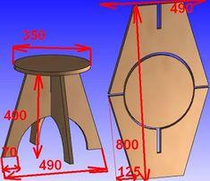 Делаем сами - своими руками.: Мебель из фанеры.