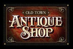 Letterhead Fonts / LHF Antique Shop / Decorative Fonts