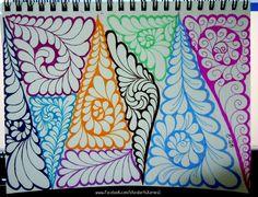tangles, zentangle