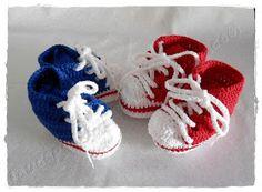louca por linhas - crochet e patchwork: ♫ Estranho é gostar tanto do seu All Star azul ♫♫