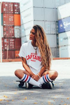 """Skater Girl Style"" – Are you sensing a theme? -TC- ""Skater Girl Style"" – Are you sensing a theme? Skater Girl Style, Skater Girl Outfits, Look Fashion, Girl Fashion, Fashion Outfits, Fashion Women, Look 2015, Skate Girl, Sport Outfit"