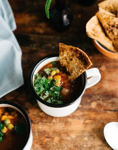 VEGAN TORTILLA SOUP | Good Eatings