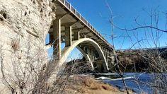 Lundbreck Falls Bridge