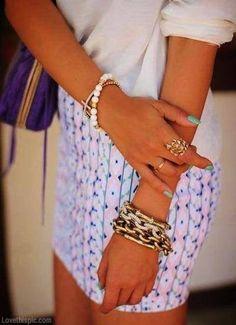 Trendy Jewelry fashion nails trendy gold jewelry