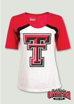 cbd968335ce1 Great tee for a baseball game! #redraideroutfitter #danlawfield #ttu # texastech #