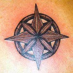 North Star tattoo