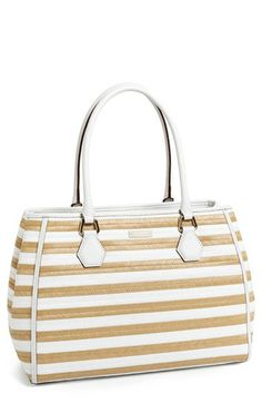 kate spade new york 'catherine street - wensley' straw tote available at #Nordstrom