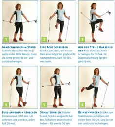 Bildergebnis für nordic walking aufwärmen Nordic Walking, Cross Training, Health Fitness, Workout, Sports, South Africa, Exercises, Gym, Walking