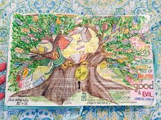 """""""Tree of Knowledge of Good & Evil"""" (c) Michelle Bentham 2016."""