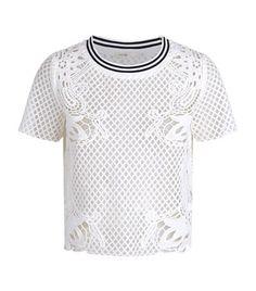 MAJE Tracy Mesh Lace Top. #maje #cloth #