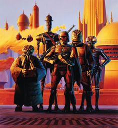 'Scourge Of The Galaxy' by Ralph McQuarrie