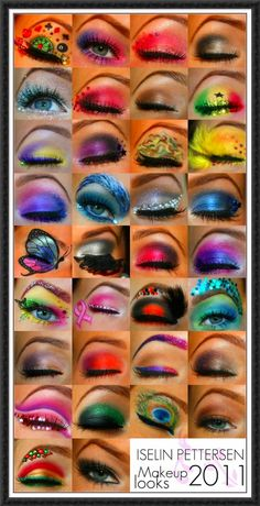 Awesome and very interesting eye makeup.