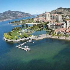 KELOWNA, British Columbia, Canada. - I run along this promenade, along the lake, every morning. Awesome!