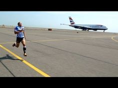 Bryan Habana Vs British Airways' A380 http://youtu.be/P66ISniQCqY