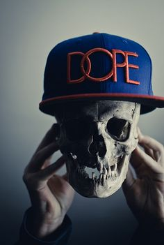 """Double meaning """"you're a dope if you do drugs"""""""