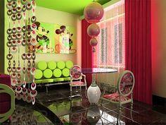 Kitchen design in modern style-25