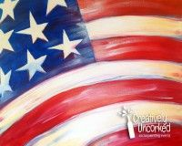 American Flag | Creatively Uncorked | http://creativelyuncorked.com