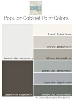 Most Popular Benjamin Moore Kitchen Cabinet Colors