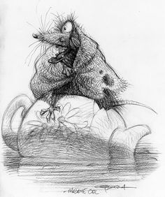 Living Lines Library: Ratatouille (2007) - Concept Art