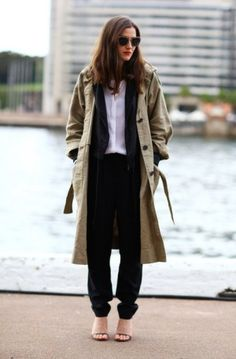 Trench coat | street style #fashion
