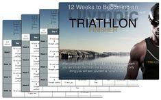 12-week triathlon training plan #triathlon #training #plan  http://thetrihub.com/olympic-triathlon-training-plan/