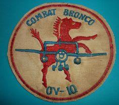 NEWSPAPER - PILOT FLIGHT PATCH - N.005 - COMBAT - BRONCO OV-10 - VIETNAM WAR FAC