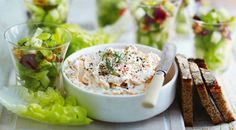 Smoked trout and horseradish pate a unique Christmas recipe