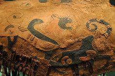 dettaglio decorazione in feltro di una sella