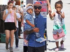 Flags are a great summer motif. See which celeb kids are sporting the trend, and how to get the look.