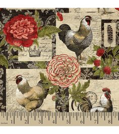 Legacy Studio .. Floral Patch French Rooster (2015)