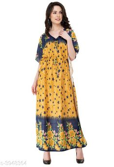 Nightdress Trendy Imported Satin Night Wear Fabric: Imported Satin  Sleeves:  Sleeves Are Not Included Size: S - 36 in  M - 38 in  L- 40 in XL- 42 in Length: Up To 48 in             Type: Stitched Description: It Has 1 Piece of Women's Night Wear Work: Printed Country of Origin: India Sizes Available: Free Size, S, M, L, XL, XXL   Catalog Rating: ★4.2 (3448)  Catalog Name: Eva Trendy Imported Satin Night Wear Vol 7 CatalogID_556532 C76-SC1044 Code: 092-3948364-975