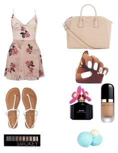 """""""Untitled #62"""" by philippamolly ❤ liked on Polyvore featuring Lipsy, Aéropostale, Givenchy, Marc Jacobs, Forever 21 and River Island"""