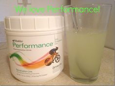 Shaklee Performance is so good tasting without all the yucky stuff! Love it! Nothing artificial:) Safe for the whole family!