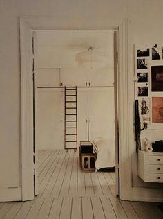 Stege på garderob