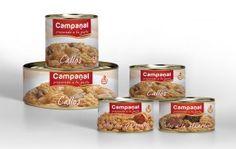 Gama Callos Campanal. Diseño de packaging para gama de Callos Campanal. También se realizó la nueva imagen corporativa de la marca.