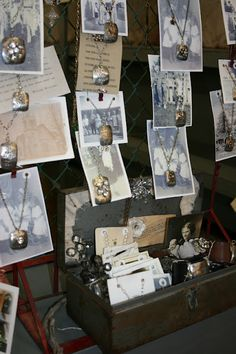 Destination found necklace display