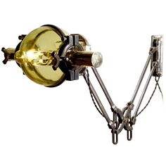 Victorian medical lamp