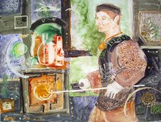 Glassblower by Gallery of Art Groups DFW, via Flickr