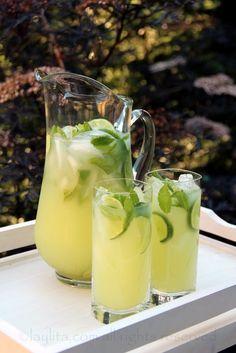 Receita fácil de limonada com vodca